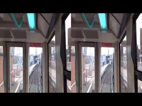 3D London Docklands Light Railway