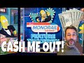5 X $20 ✧✧ CASH ME OUT Episode 9! ✧ SIMPSONS ✧ MIGHTY CASH ✧ OCTOBLAST and MORE SLOT MACHINE WINS!