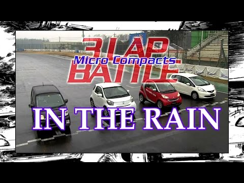 COMPACT CARS RAIN TRACK BATTLE