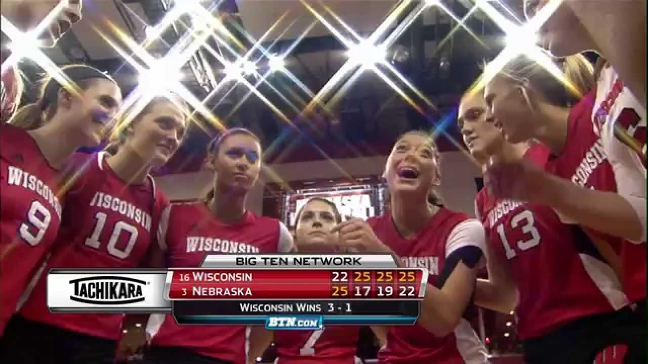 Wisconsin at Nebraska - Women's Volleyball Highlights ...