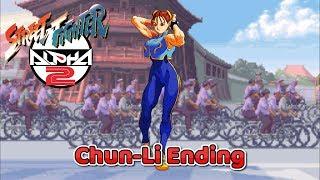 Street Fighter Alpha 2 - Chun-Li Ending - SNES