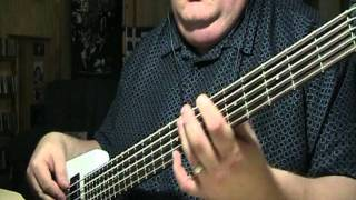 Sting Fragile Bass Cover