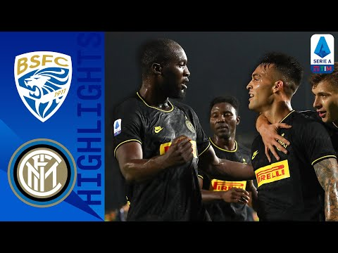 Brescia 1-2 Inter | Strike Duo Lukaku & Martínez Lead Inter to Victory | Serie A