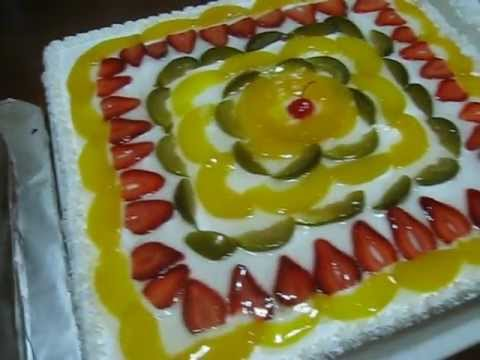 Como Decorar Una Tarta Con Fresas Naturales