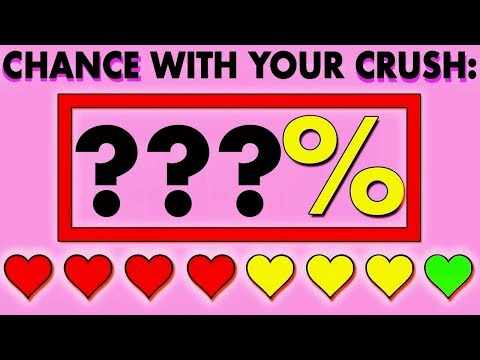Do You Have A Chance With Your Crush? Love Personality Test  | Mister Test