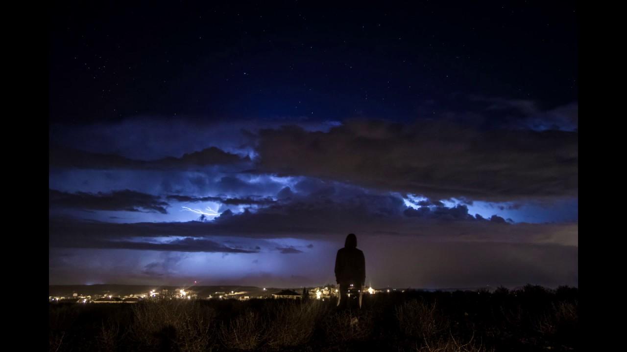 Thunderstorm Nicosia,Cyprus 1.11.2016  Time-Lapse