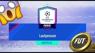 😱 FIFA 19 SBC UEFA UCL Laufpensum 💥 FUT 19 SQUAD BUILDING CHALLENGE German
