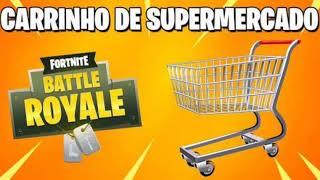 Fortnite (Chariot de supermarché de la vie réelle)