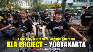 KLA Project - Yogyakarta Cover by Angklung Carehal (Angklung Malioboro)