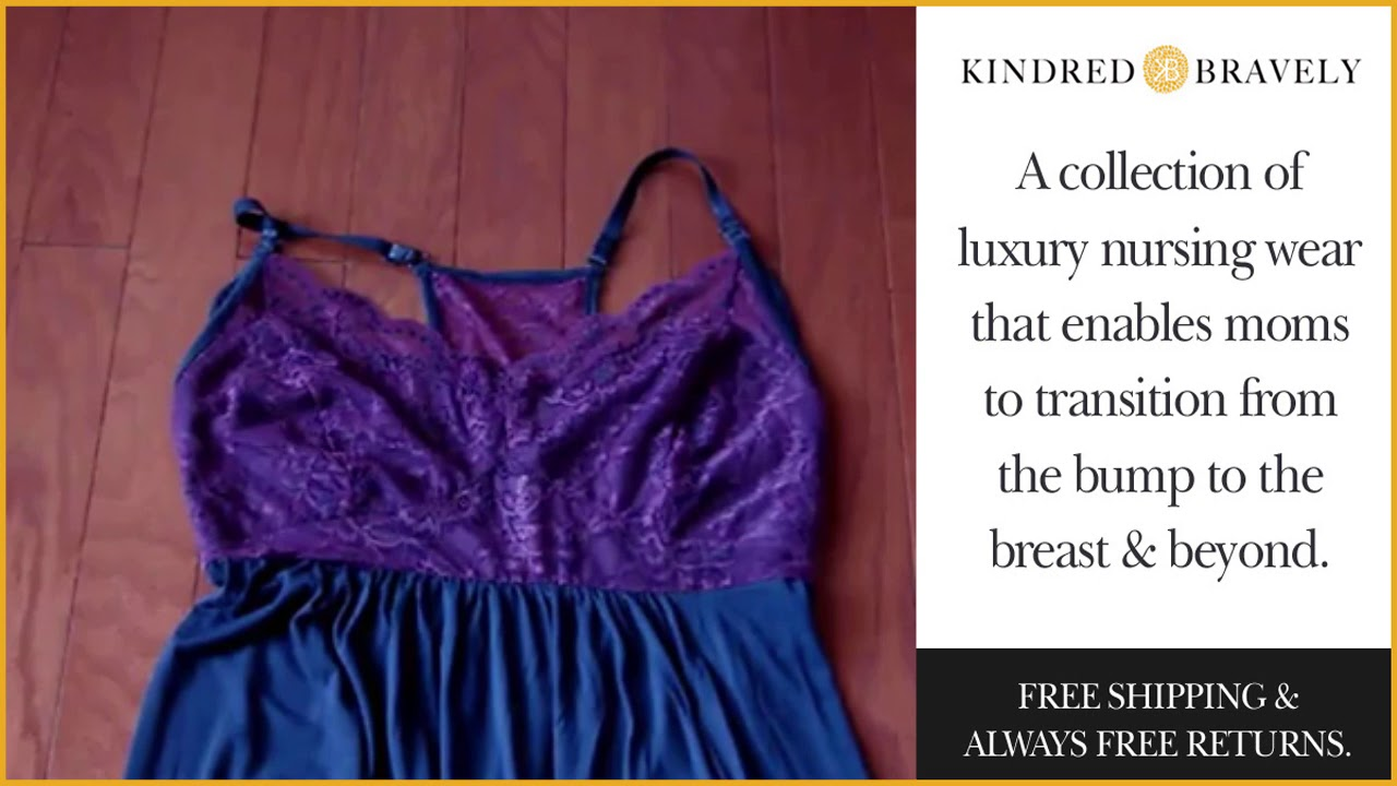 Lucille Nursing & Maternity Nightgown from Kindred Bravely Reviewed ...