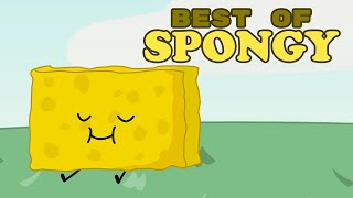 """""""Big Yellow Squishy Contestant"""" - Best of Spongy (BFDI/BFDIA/BFB)"""