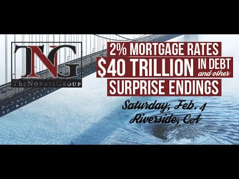 Pre-Event Webinar for 2% Intere rates, $40 Trillion in Debt, & Other Surprise Endings