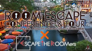 ESCAPETHEROOMers at the 2019 TRANSWORLD ROOM ESCAPE Conference in San Antonio, Texas!!