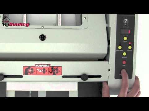 Akiles BookletMac Semi-Automatic Booklet Maker Demo Video
