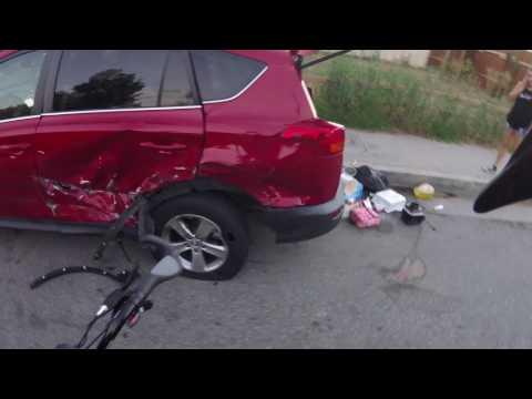 Auto Crash Wilber and Sherman Way. Reseda Ca