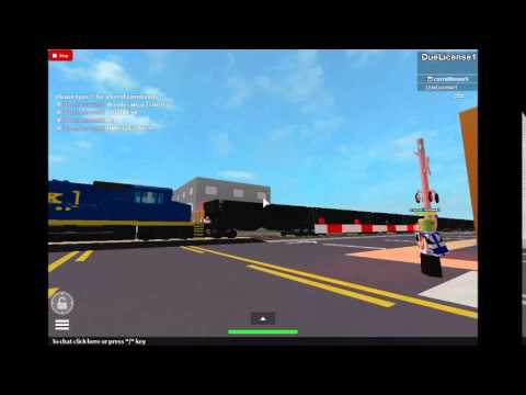 ROBLOX: CSX Autorack Train Trouble - YouTube