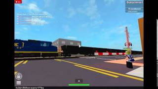 Filmer765's Games ROBLOX- CSX Train with slow gates