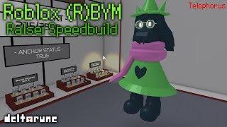 Roblox (R)BYM: Ralsei Speedbuild