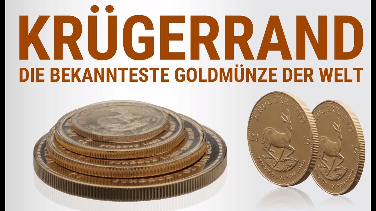 Krügerrand Goldmünze Südafrika Die Bekannteste Münze Der Welt