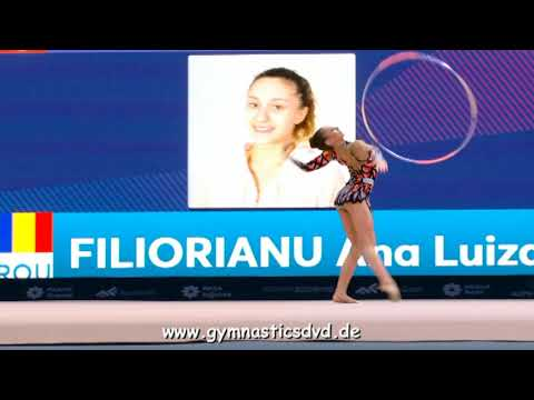Ana Luiza Filiorianu (ROU) - Senior 06 - WC Baku 2018