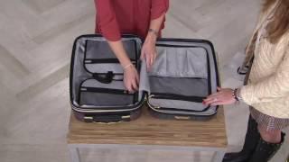 Aimee Kestenberg Wheel Hard Case Luggage on QVC