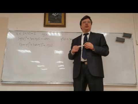 Р.В. Шамин. Дифференциальные уравнения - лекция № 01