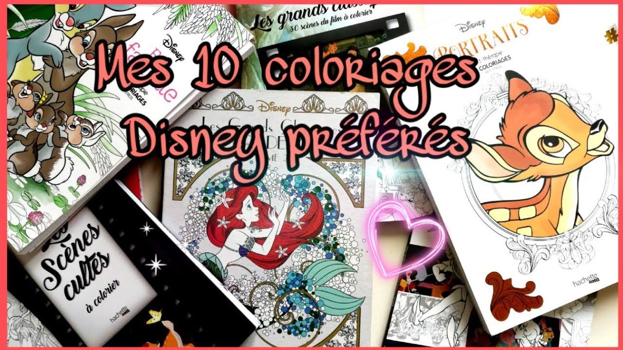 Mes 30 coloriages Disney préférés.