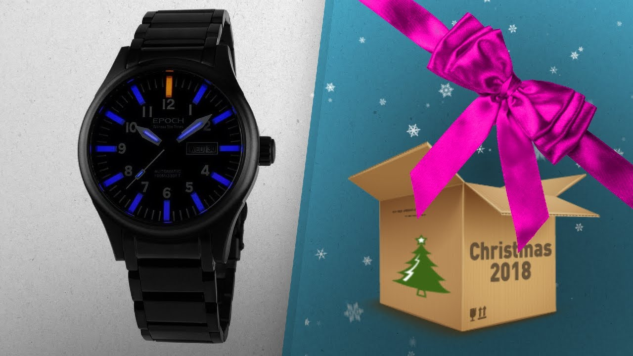 For Epoch Christmas Most Men Gift 2018 Watches Countdown Wished Ideas To 3KJlF1cuT
