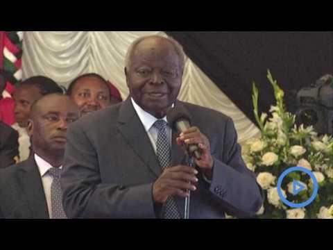 Mwai Kibaki's speech at Gachagua's funeral
