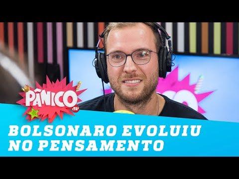 Vinicius Poit: 'Bolsonaro evoluiu no pensamento'