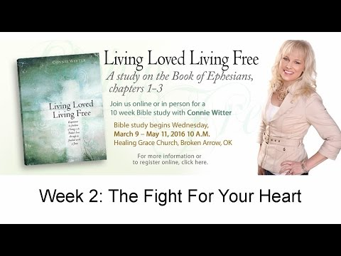 2) Living Loved, Living Free with Connie Witter and Because of Jesus Ministries