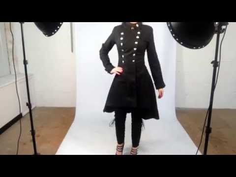 Kate's Clothing Catwalk - Necessary Evil's Ceres Military Coat