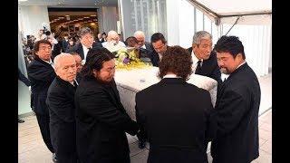 マサ斎藤さん告別式で坂口 - Masa Saito Funeral Ceremony thumbnail