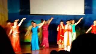 amazing korean dancing in indian songs MAHI VE ( IYF) 2013