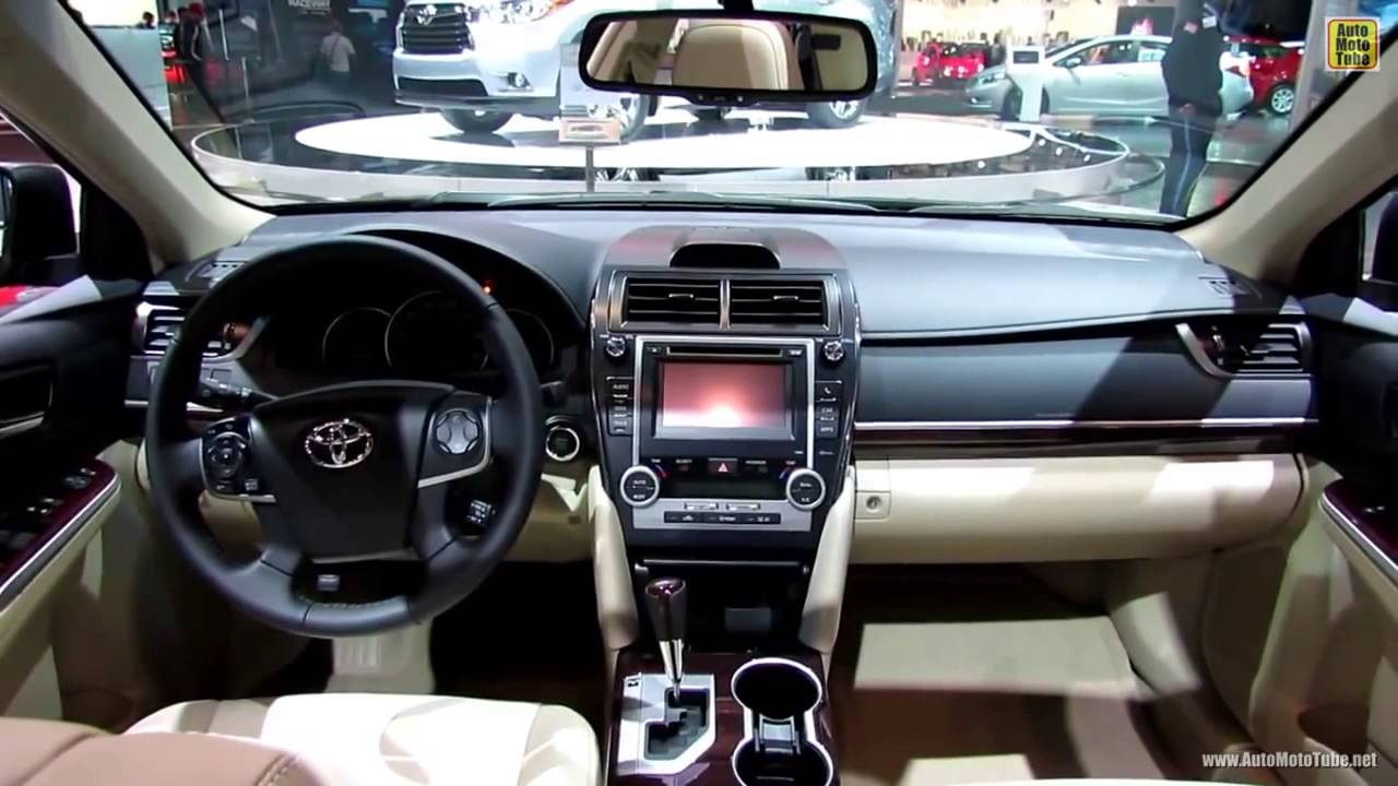 toyota camry xle 2013 exterior interior youtube. Black Bedroom Furniture Sets. Home Design Ideas