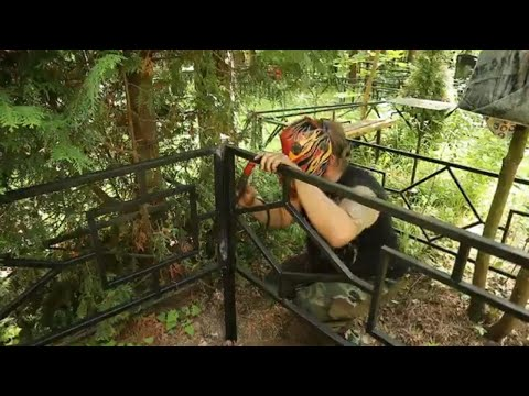 Как установить ограду на кладбище самостоятельно