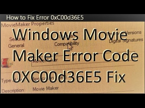 How to Fix Error 0xC00d36E5 by MattHumanPizza2