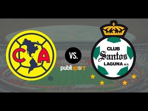 America Vs Santos America Vs Santos Semifinales Ida