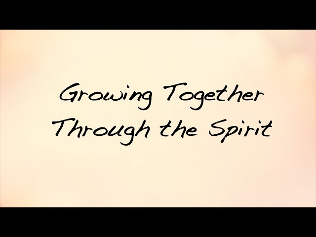 Working Together Through the Spirit : Women of God's Word