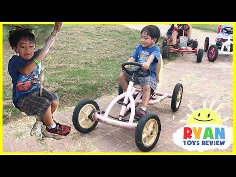 Thumbnail: Kids Family Fun Trip to the Farm and Children's Museum! Play Area Children Activities