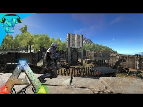 S4E26 - Sniper Battles and Team Skill Training! ARK: Survival Evolved PVP Season