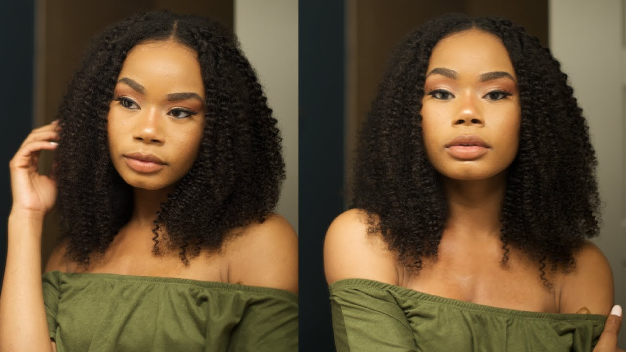 The Best Natural Kinky Curly Clip In Hair Extensions 2018 Power