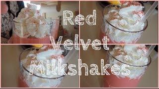 How To: Easy Red Velvet Milkshakes!