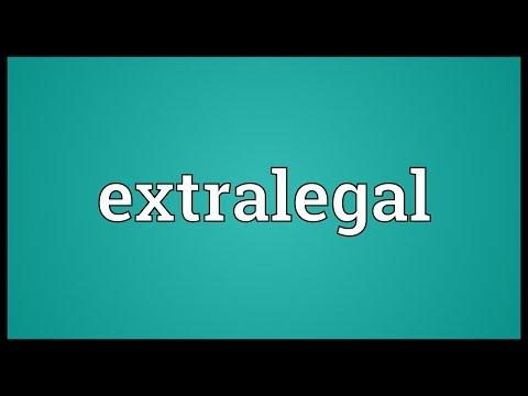 Header of extralegal