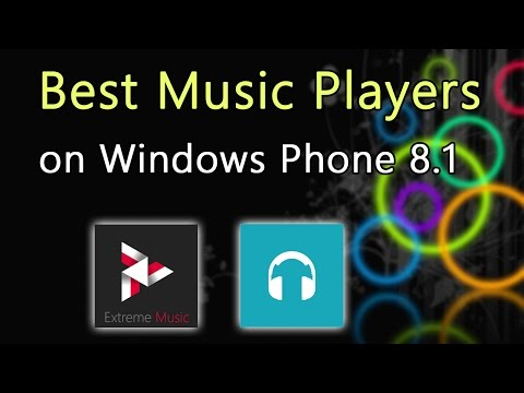 Alternative music players on Windows Phone 8.1 🎧