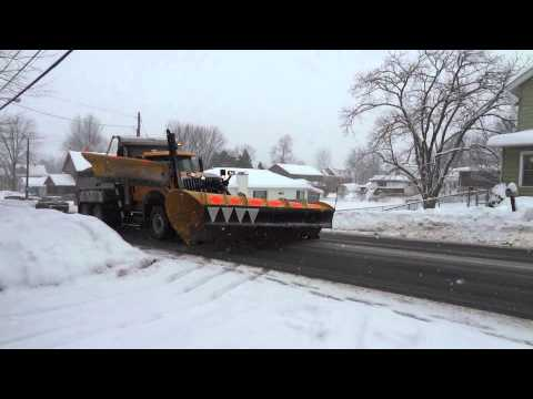 International WorkStar Snow Plow - Onondaga County DOT