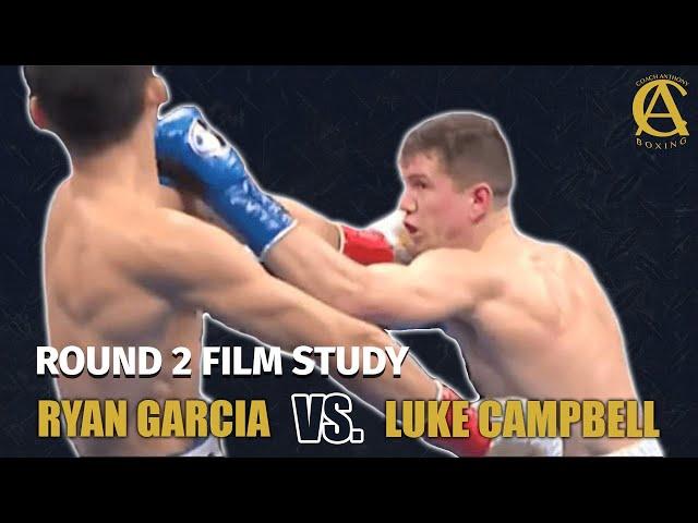 Ryan Garcia vs Luke Campbell Film Study Round 2!