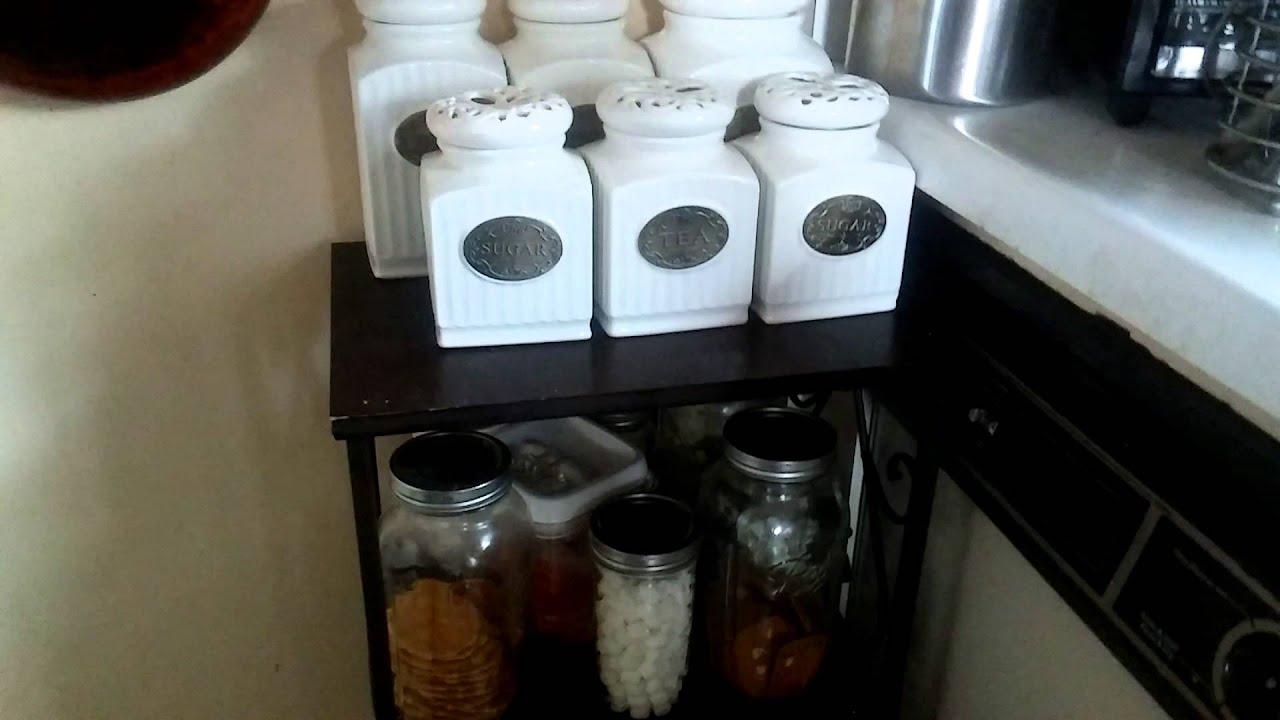 Organizando La Cocina Estacion De Cafe Youtube