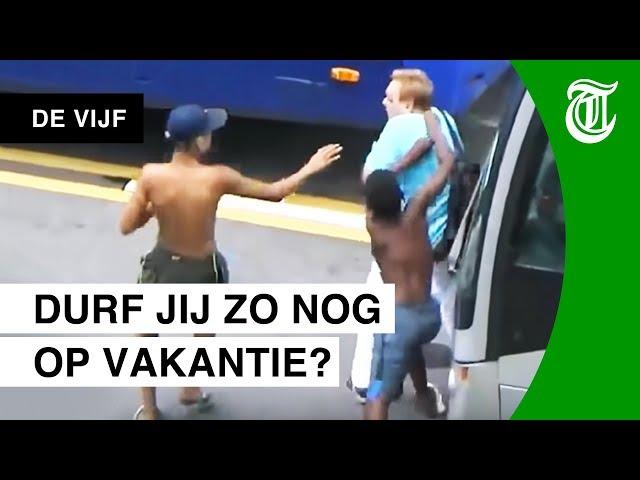 Krankzinnig grof: zakkenrollers gefilmd - DE VIJF