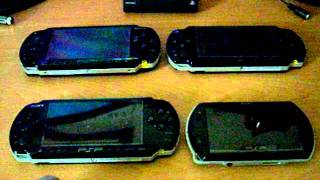 PSP 1000 vs PSP 2000 vs PSP 3000 vs PSP Go (N1000)